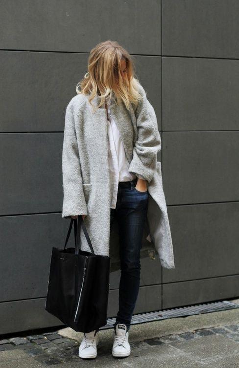 Boucle Coat Estetisk