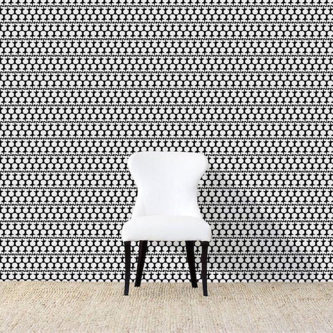 Silhouette Petite Wallpaper - AphroChic    Modern Soulful Sty