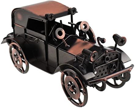 Amazon.com: Tipmant Antik Vintage Car Tin Metal Truck Heminredning.