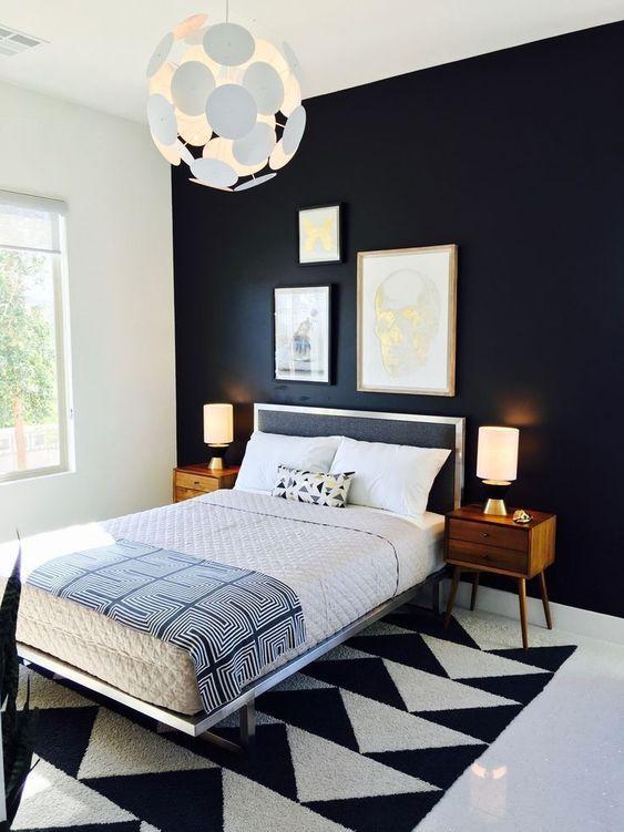 47 Eleganta och trendiga moderna sovrumsdesigner från mitten av århundradet - DigsDi