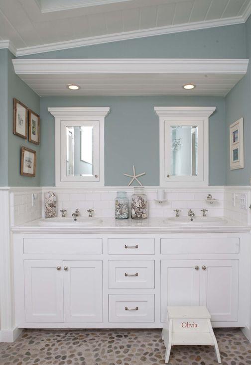 6 tips för ett havsinspirerat badrum: Beach Cottage Room.