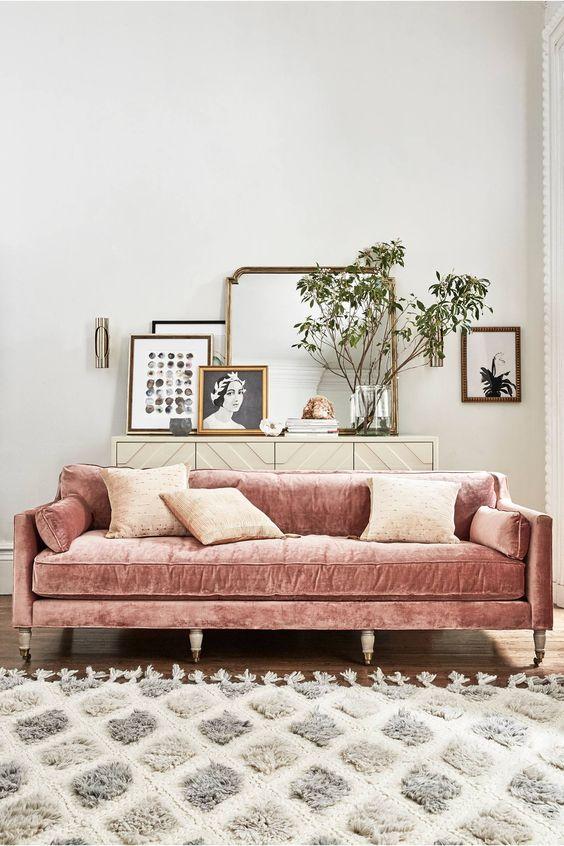 30 trendiga sammetmöbler och heminredningsidéer - DigsDi