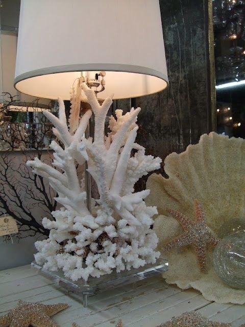 Dekorera med havskoraller: 34 snygga idéer |  Havskorall dekor.