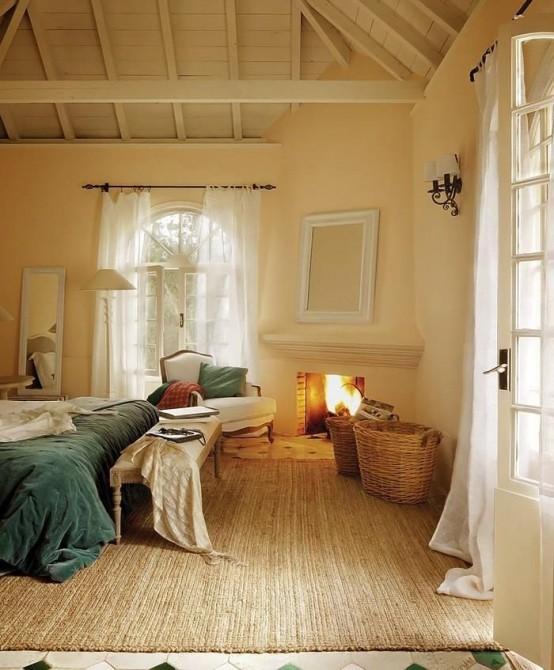 27 Super mysiga och bekväma sovrum med öppen spis - DigsDi