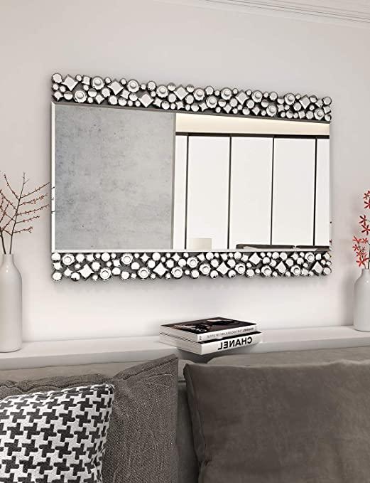Amazon.com: Underbara väggspeglar för dekor - 23,6 '' X 35,4.