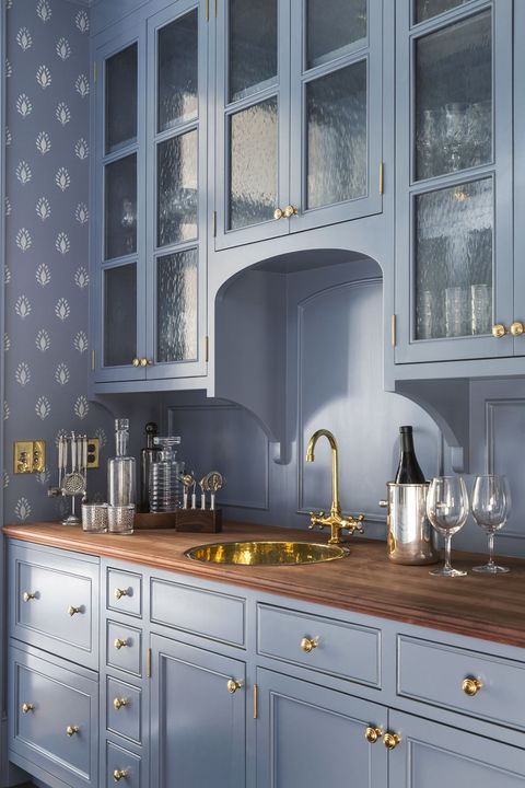 40 blå köksidéer - härliga sätt att använda blå skåp och inredning.