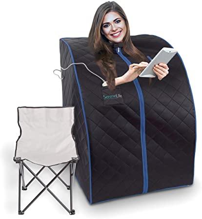 Amazon.com: SereneLife Oversize Portable Infrared Home Spa |  Ett .
