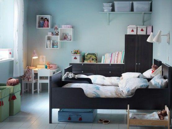 42 söta IKEA Sundvik-sängar och spjälsängsidéer att prova  Ikea barnrum.