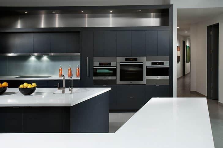 I trend: Monokromatiska paletter i köket |  Melton Design Bui