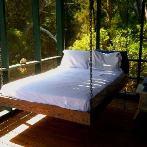 39 Avkopplande hängande sängar utomhus för ditt hem |  DigsDigs.