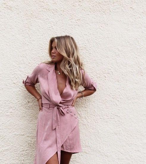 rosa sommarklänning