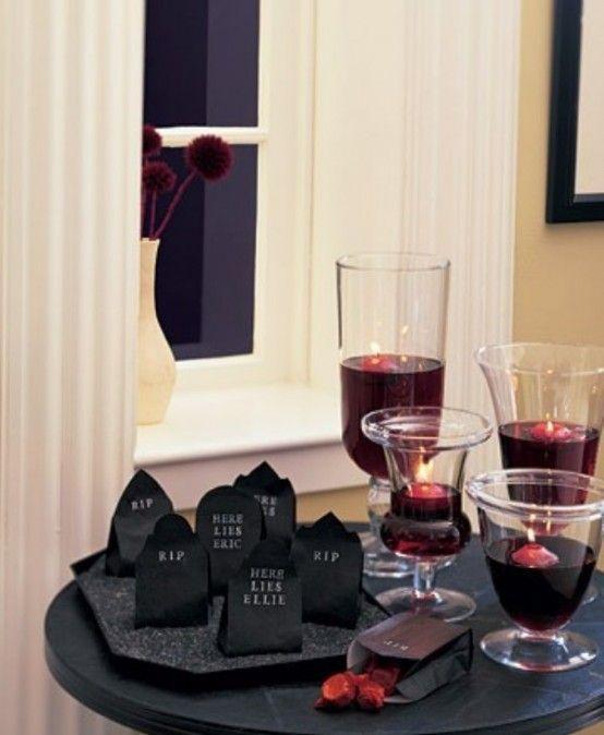 37 klassiska röda och svarta Halloween-idéer - DigsDi