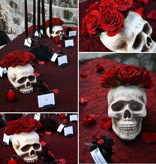 37 klassiska röda och svarta Halloween-idéer |  DigsDigs |  Halloween.