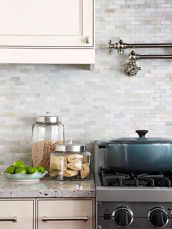 27 keramiska plattor Kök Backsplashes som fångar ditt öga - DigsDi