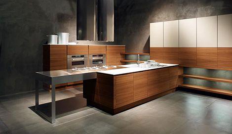 Minimalistiskt kök från Cesar - nya Yara Kitchen låter trä ta.
