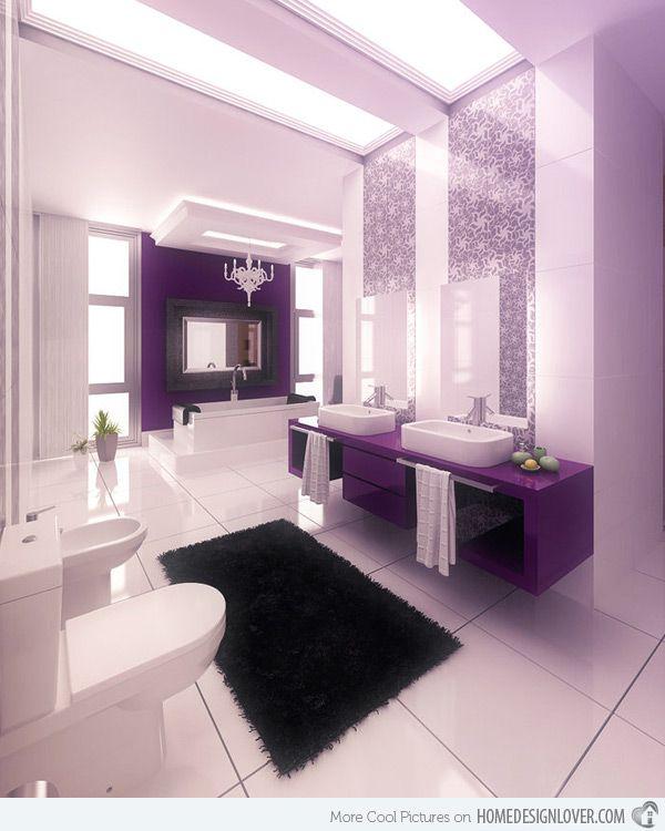 Pin av 💜💜PurpleNista💜💜 på ROYALty Bathroom |  Skön .