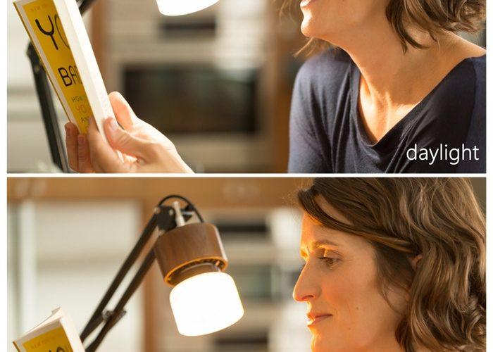 Denna solljuslampa härmar solen i ditt område - Simplemo