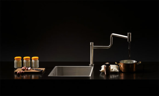 Dornbracht Water Zone - Kompletta vattensatser och enhetspaket.