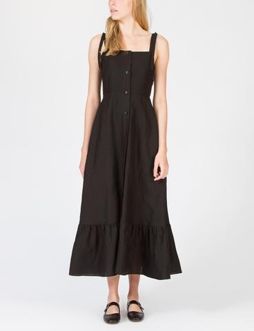 Maxiklänning med sjöjungfru framtill