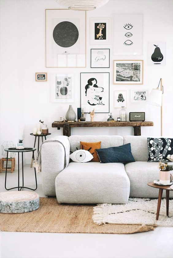 5 enkla tips att följa när du dekorerar ett eklektiskt hem (Daily.