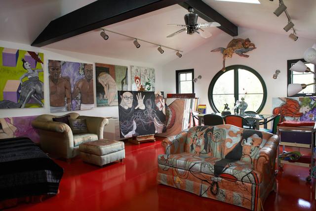 Brillig Manor: Artist Studio - Eklektisk - Hemmakontor - Los.