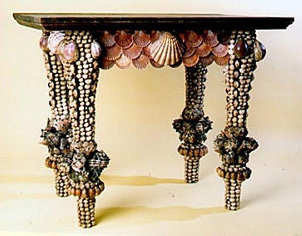 58 Fantastiska havsinspirerade möbelstycken |  Sea shell dekor, Sea.