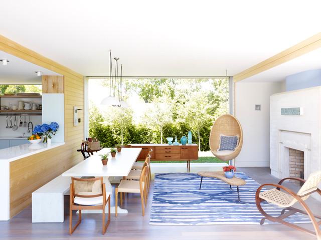 Modern Summer House - Samtida - Matsal - New York - av.