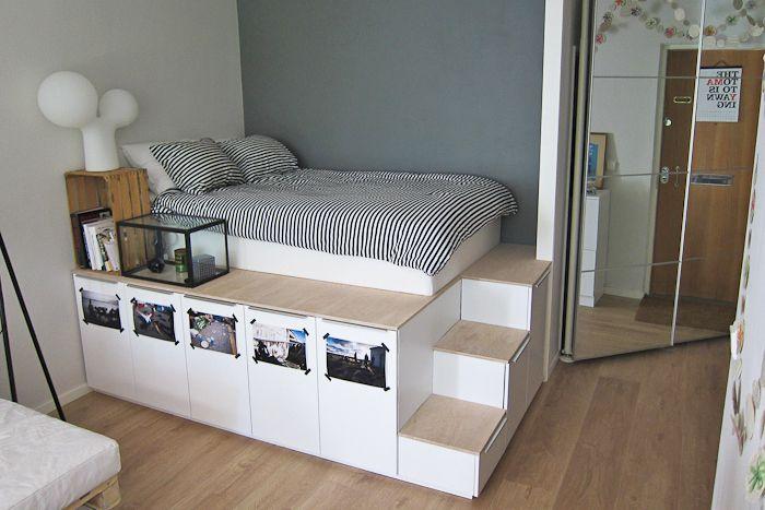 21 bästa IKEA-förvaringshackar för liten bedroo