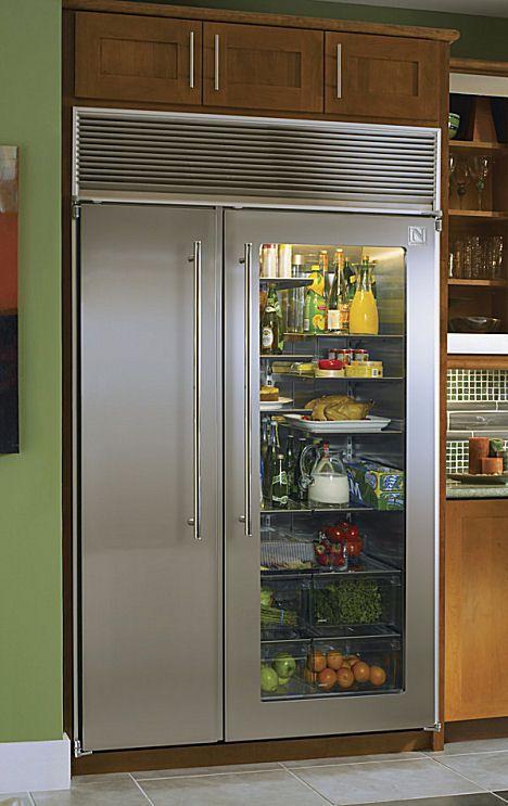 Redbeacon-experter    Glasdörrkylskåp, hemmakök, glas.