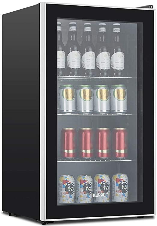 Amazon.com: KUPPET 120-Can Dryckkylare och kylskåp, liten.