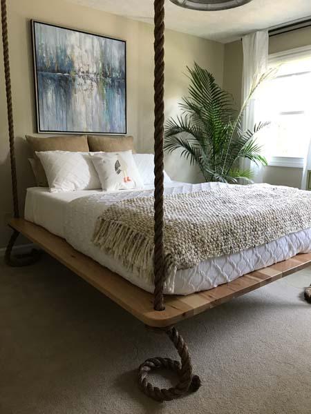 Hängande sängar och sänggavlar - Målmedvetet Desi