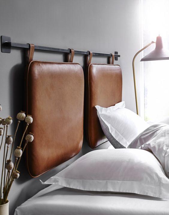 25 lädergavlar som kommer att förändra ditt sovrum - DigsDi