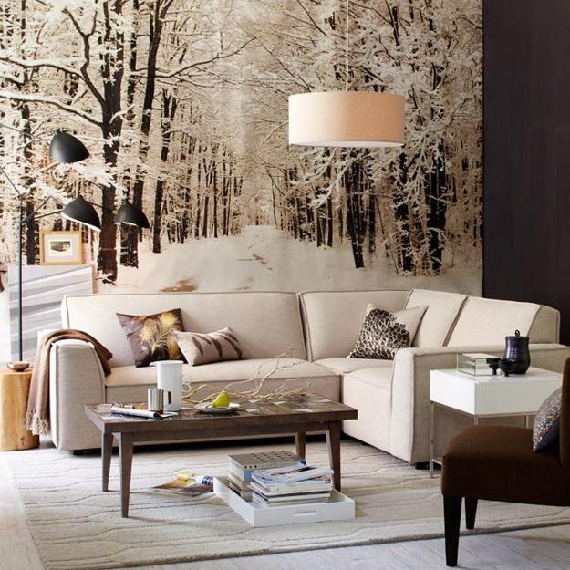 20 lätta vinterdekorationsidéer som skapar varma och ljusa moderna.