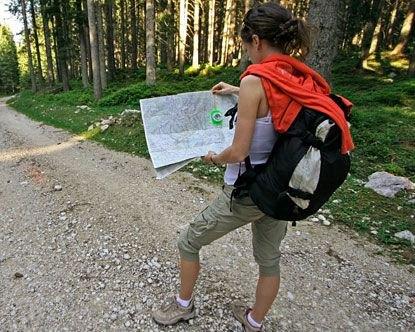 Cargo knälång shorts för vandring
