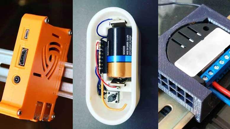 15 coola hemautomatiseringstillbehör för 3D-utskrift för din smarta.