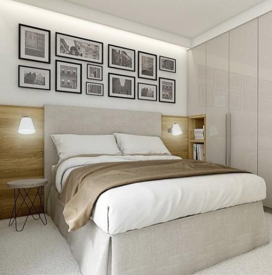 8 praktiska tips för att visuellt utvidga ett litet sovrum - DigsDi