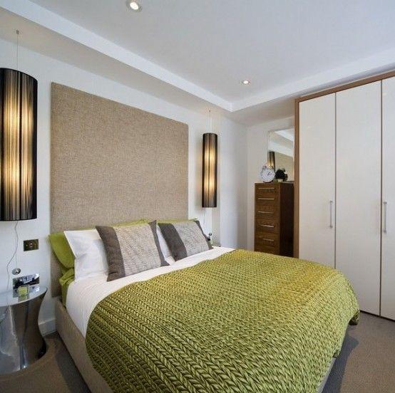 8 praktiska tips för att visuellt utvidga ett litet sovrum |  Liten.