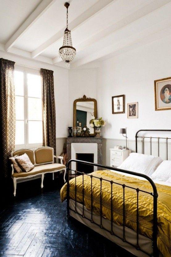 28 enkla och eleganta moderna sängar från mitten av århundradet    Hem, Hem sovrum.