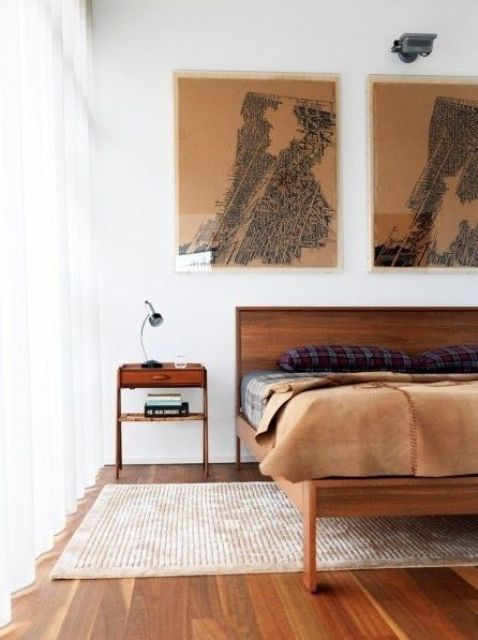 28 enkla och eleganta moderna sängar från mitten av århundradet    DigsDigs    Sovrum.