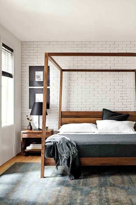 Dream On: Moderna himmelsängar för varje budget |  Modernt sovrum.