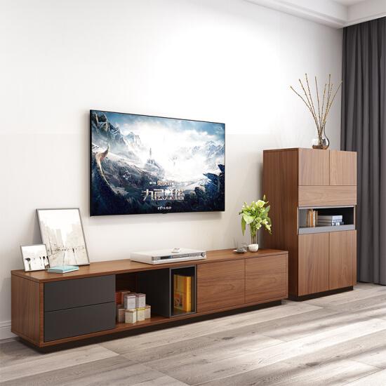 Älskar färgglada TV-skåp Nordiska kreativa TV-skåp soffbord.