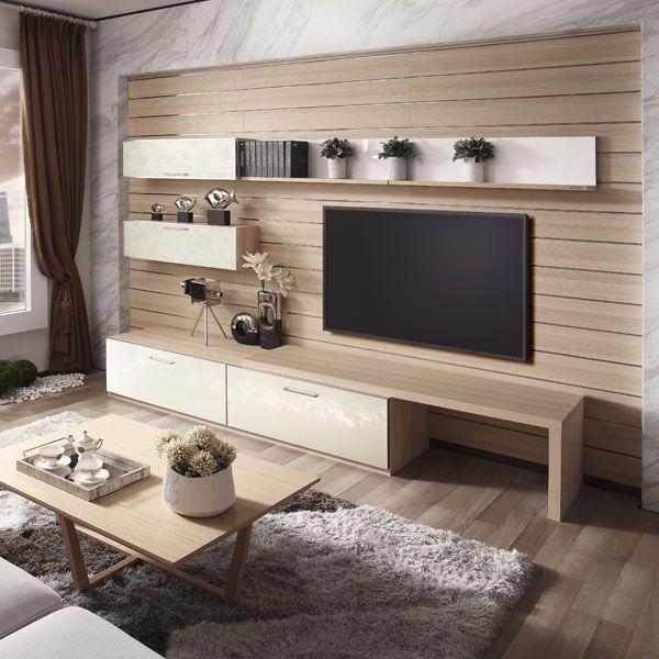 17 Enastående idéer för att TV-hyllor ska utforma mer attraktiva.