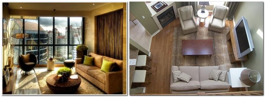 Hur man expanderar ett litet vardagsrum visuellt: 8 tips |  Heminredning.