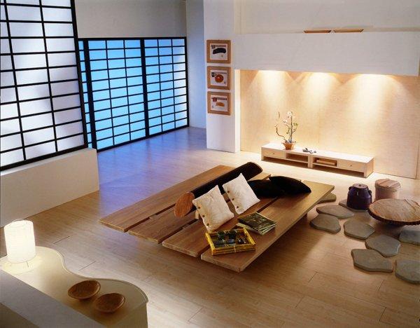 20 japansk heminredning i vardagsrummet |  Hemdesign Lov