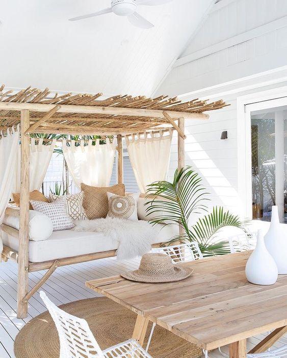 25 tropiska uteplatser, balkonger och terrassdesigner - DigsDi