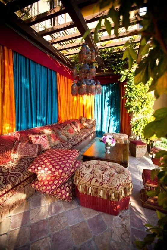 55 Charmiga uteplatsdesigner i Marocko |  DigsDigs |  Bohemiska.