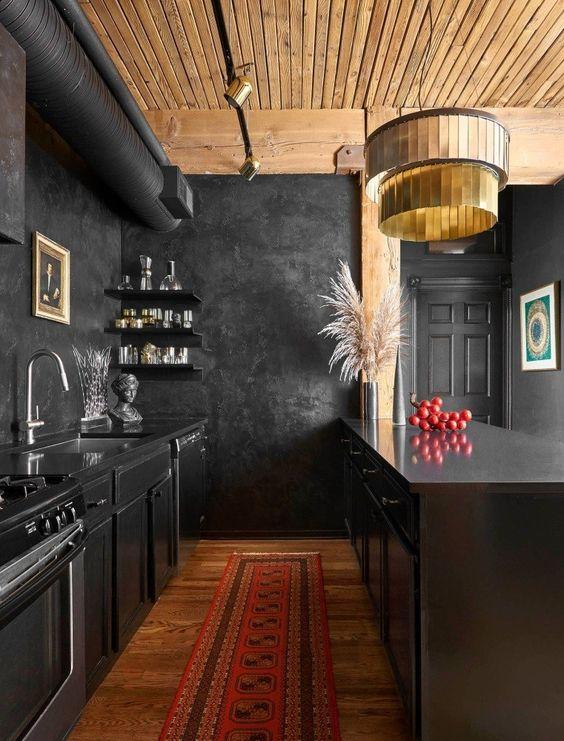 25 sätt att uppdatera ett svart kök med stil - DigsDi