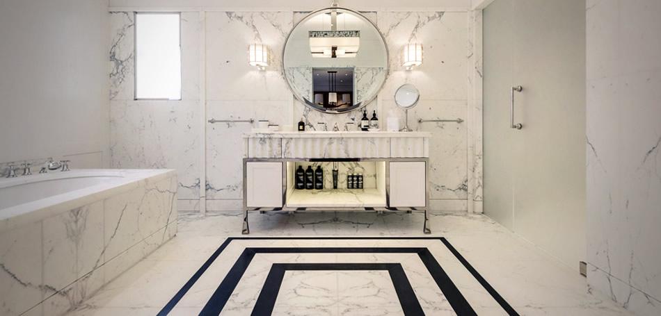 Hur man uppnår lyx med marmorbadrum Desig