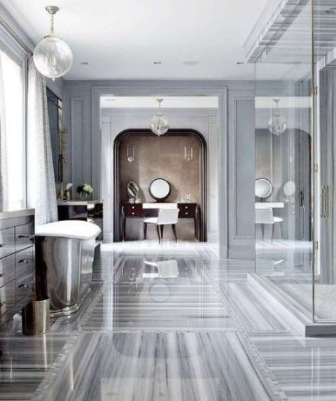 48 lyxiga marmorbadrumsmönster |  DigsDigs |  Marmorbadrum.