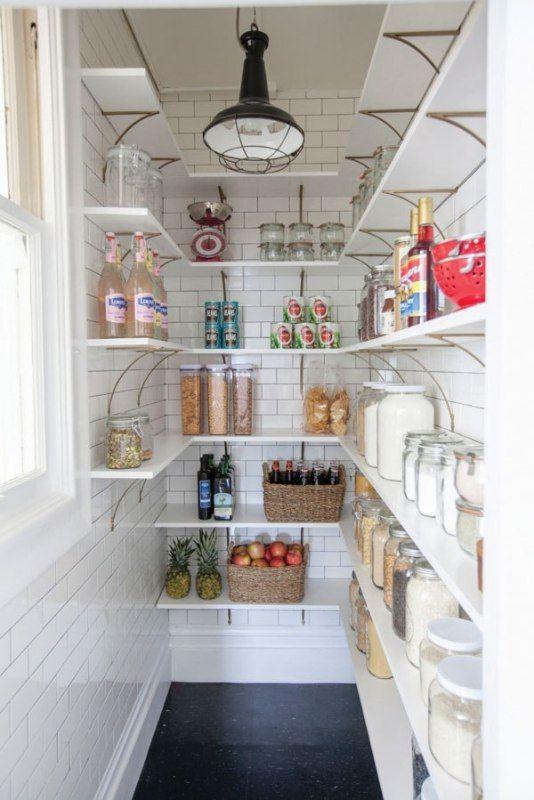Gör ditt skafferi snyggt kan göra ditt kök till ett mer.